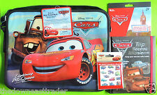 Lot Disney Pixar Cars Book Top Secret Missions Stickers 2-in- Auto Travel Desk