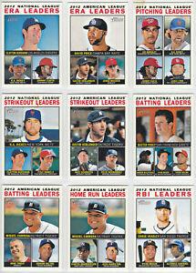 2013 Topps Heritage Baseball Base Card You Pick Finish Your Set 332-425