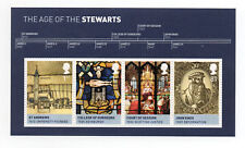 Gb 2010 Kings and Queens 3rd. Issue Minisheet with Four Values to 81p Mnh.