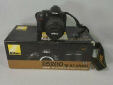 Nikon D D5200 24.1MP Digital SLR Camera - Black (Kit w/ 18-55mm)