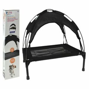 Pet Bed Tent 60cm - Raised Dog Bed Puppy Pet Elevated Tent Comfort