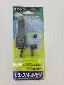 SONY DCC-E345 Car DC Adaptor 1.5/3/4.5/6 Volts MD