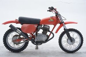 DG 1977-1978 Honda XR75 RCM Exhaust Pipe, Muffler; 07-2077