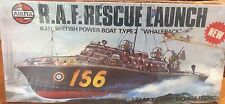 AIRFIX R.A.F. RESCUE LAUNCH (Series 5) Scale 1:72 Kit 5281-2 in box