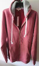Rejawece Sweatshirt Zip Coat Jacket Hoodie XXL Red Fleece Hoodie Sportswear
