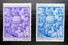 ITALIA 1950 cupola sg746/7 unmounted Nuovo di zecca nuovo prezzo più basso fp445