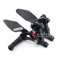 Rear Rearsets Footrest Foot Peg For MV Agusta Brutale 1090/990/920/910/989/750