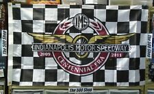 New listing Indianapolis Motor Speedway Centennial Era Celebrating 100 year 3' x 5' Flag Ims