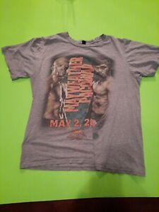Mayweather Vs. Pacquiao T-Shirt Size Medium May 2, 2015 MGM Grand Las Vegas (B)