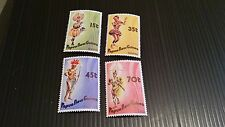 PAPUA NEW GUINEA  1986 SG 535-538 DANCERS.  MNH