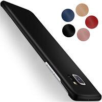 Back Cover für Samsung Galaxy S7 Edge Hard Case Extrem Dünn Matt Schutz Hülle