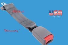 """Extension 14""""  Safety Seat Belt Gray Extender Belt Extension With Buckle"""