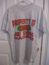 Property of #18 Bobby Labonte Joe Gibbs Racing Gray T-Shirt Size Large New