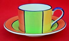 WHITTARDS;    TRADITIONAL ORANGE/GREEN CUP AND SAUCER -  GREAT CONDITION!