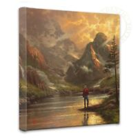Thomas Kinkade Almost Heaven 14 x 14 Gallery Wrapped Canvas