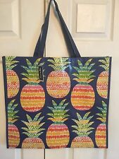 NEW Summer Pineapples Shopping Bag Reusable Travel Tote Eco Friendly Marshalls