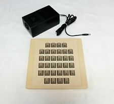 Silicon Graphics SGI Button box SN-911 with power adapter and data cable.