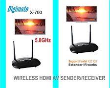New 5.8GHz Wireless HDMI AV Sender Transmitter +Receiver supports Foxtel IQ3
