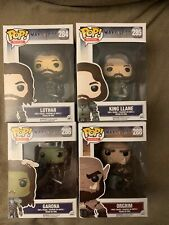 Warcraft Funko Pop Movies - Lothar, King Llane, Garona, and Orgrim - Bundle Pack
