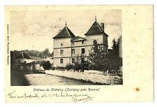 CPA 42 loire Lontigny Château de Châtelus