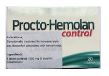 Procto-Hemolan Control 1000mg  20 pills