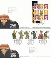 First Day Cover GB 2007 BRITISH ARMY UNIFORMS [Tallents House] Typed Address UK