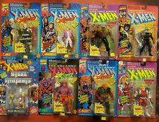 Toybiz Uncanny X-Men X-Force Marvel Steel Mutants Action Figures Lot of 8 MOC's