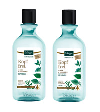 2xPack Kneipp 'Care Free' Shower with Mint & Rosemary Oils - 500 ml *Germany*