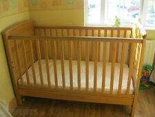 mamas & papas Nursery Cotbeds with Teething Rails