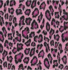 Vintage Klebefolie Leopard Pink Möbelfolie Retro selbstklebende Folie 45x200 cm