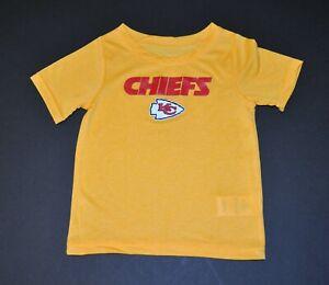 NWOT Kansas City Chiefs Boys Toddler Infant Baby T-Shirt (2T-2) Shirt Jersey