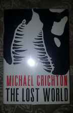 Lost World Michael Crichton 1995, Hardcover, 1st edition 1st printing SIGNED