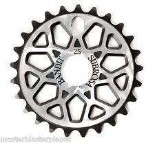 SUBROSA BANDIT BMX BIKE BICYCLE SPROCKET 25t CHAINWHEEL SHADOW SILVER BLACK NEW