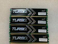 DESKTOP GAMING RAM 8GB (4X2GB) DDR2 PC2-6400 800MHz 240pin NON ECC LOW DENSITY