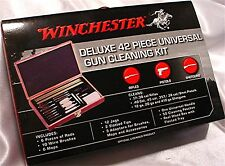 Winchester Deluxe 42 Piece Rifle Shotgun Pistol Gun Cleaning Kit 36330