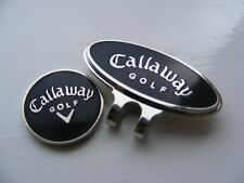 Black Callaway Magnetic ball marker with Cap clip