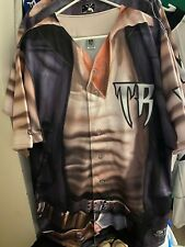 NEW WISCONSIN TIMBER RATTLERS STAR WARS SOLO GAME ISSUED BASEBALL JERSEY
