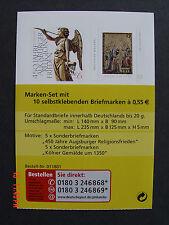 Bund * * MH 76II (Raster) Winter 2008 postfrisch mit je 5x 2700-2701 - komplett
