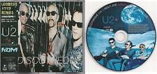 U2-Discothèque-Japan 3 Track CD Single #PHCR-8382 with OBI