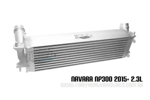 NP300 Intercooler suits D23 Navara  2.3L 2015+ 4x4 turbo  20% larger upgrade