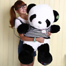 2020 55CM Giant Panda Bear Plush Plush Toy Doll Stuffed Animal Pillow Xmas Gift