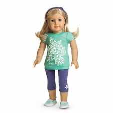 New! American Girl Tropical Bloom Outfit + Charm for Dolls MYAG Retired