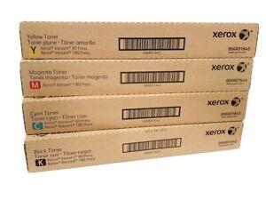 Xerox Versant 80, V80 OEM Genuine Toner Cartridge Set CMYK