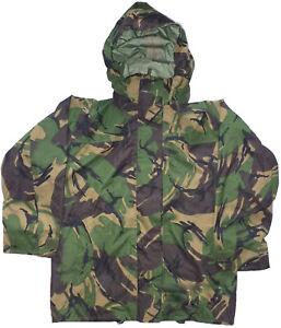 DPM Woodland Goretex MVP Waterproof Wet Weather Jacket British Army Surplus