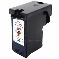 1 PK Reman #33 18C0033 Color Ink Cartridge for Lexmark Z1420 P6350 X1180 X3350W