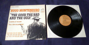 LP Vinyl Hugo Montenegro plays Ennio Morricone The Good The Bad And The Ugly RCA