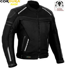 MENS MESH AIR VENT TECHNOLOGY CE SUMMER MOTORBIKE / MOTORCYCLE TEXTILE JACKET