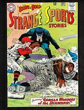 Brave and the Bold #49 ~ Strange Sports Stories ~ 1963 (4.0) Wh