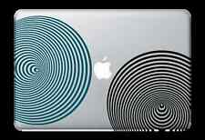"""3D Circles Decal Sticker for Apple Mac Book Air/Pro Dell Laptop 13"""" 15"""" 17"""