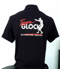 """GLOCK TEAM SHOOTING SQUAD""  Polo-Shirt, NEU!"